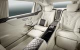 Mercedes-Maybach S 600 rear lounge seats