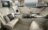 Mercedes-Maybach S 600 rear seats