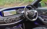 Mercedes-Benz S 300 interior