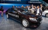 Mercedes-Benz S500 plug-in hybrid shown