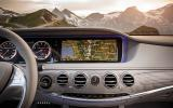 Mercedes-Benz S 63 AMG infotainment system