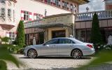 155mph Mercedes-Benz S 63 AMG