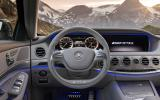Mercedes-Benz S 63 AMG dashboard