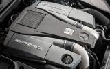 5.5-litre V8 Mercedes-Benz S 63 AMG engine