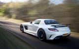 Mercedes-AMG SLS Black Series rear