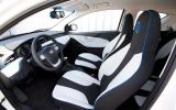 MG EV concept interior