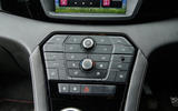 MG GS infotainment controls