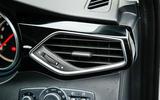 MG GS air vents