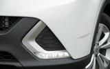 MG GS LED day-running lights