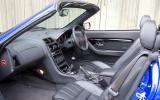 MG TF interior