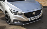 MG ZS front end