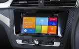 MG ZS infotainment system