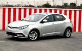 New MG 5 spied undisguised