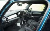 Mini Cooper SD interior
