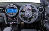 Mini Cooper dashboard