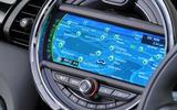 Mini Cooper iDrive infotainment
