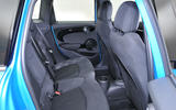 Mini Cooper 5-door rear seats