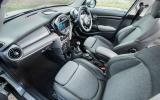 Mini Cooper D interior
