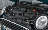 1.5-litre Mini Convertible Cooper engine