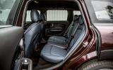 Mini Clubman rear seats