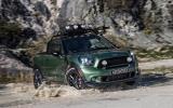 Mini reveals Paceman Adventure pick-up concept