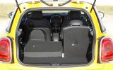 Mini Cooper S seating flexibility