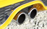 Mini Cooper S twin-exhaust system