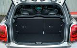 Mini Cooper S Works 210 boot space