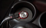 Mini Cooper S Works 210 exhaust button moulding