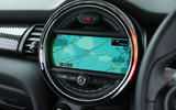 Mini Cooper S Works 210 infotainment system