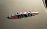Mini Cooper S Works 210 JCW badging