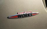 Mini Cooper S Works 210 JCW badging
