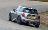 Mini Cooper S Works 210 rear cornering