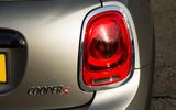 Mini Cooper S Works 210 rear light