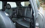 Mini Cooper S Works 210 rear seats