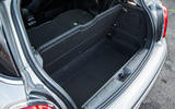 Mini Cooper S Works 210 under boot floor space