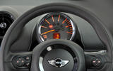 Mini Countryman instrument cluster