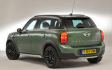 Mini Countryman rear quarter