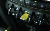 Mini Countryman S E All4 ignition button