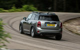 Mini Countryman S E All4 rear cornering