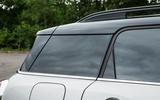 Mini Countryman S E All4 rear roofline