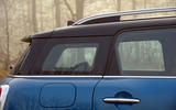 Mini Countryman tapered roof line