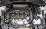 Mini Coupé twin-scroll turbocharged engine