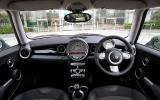 Mini Hatch dashboard