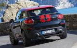 Mini Paceman JCW rear cornering