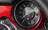Mini Remastered instrument cluster
