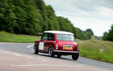 Mini Remastered rear cornering