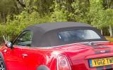 Mini Roadster convertible roof