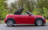 Mini Roadster folding roof