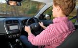 Driving the Mitsubishi ASX